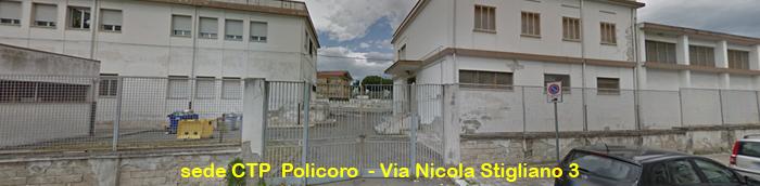 """CTP Policoro c/o Scuola secondaria di I° grado """"Aldo Moro"""""""