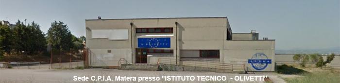 """C.P.I.A. Matera presso """"ISTITUTO TECNICO  - OLIVETTI"""""""